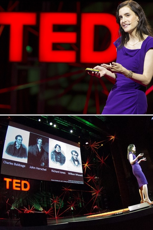 On TED Stage